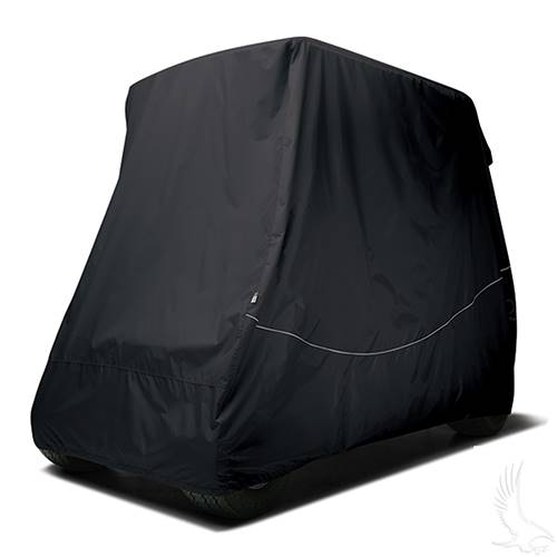 "Classic Accessories 4 Passenger Storage Cover ""Black"" w/ 80"" Top"