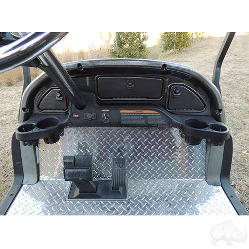 Club Car Precedent 2004-2008.5 Custom Dash Carbon Fiber