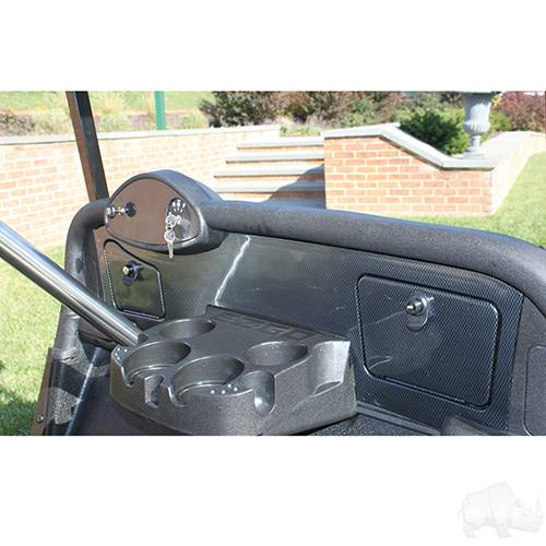 EZGO RXV Custom Dash Carbon Fiber