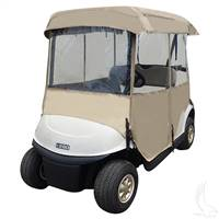 Deluxe Universal Fabric 4 Sided Golf Cart Enclosure