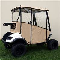 EZGO TXT 2014+ Odyssey Enclosure Beige, Over the Top