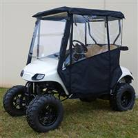 EZGO TXT 2014+ Odyssey Enclosure Black, Over the Top
