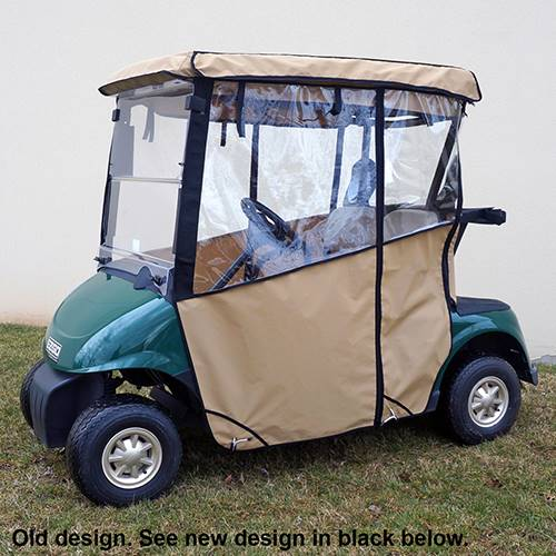 EZGO RXV Odyssey Enclosure Beige, Over the top