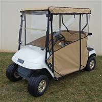 EZGO TXT Odyssey Enclosure Beige, Over the top