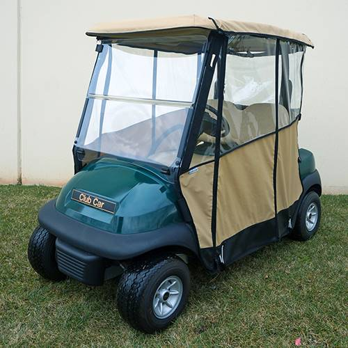 Club Car Precedent Odyssey Enclosure Beige, Over the top
