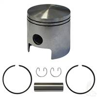 EZGO 2-cycle Piston and Ring Assembly, One Port Standard Size
