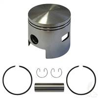 EZGO 2-cycle Piston and Ring Assembly, One Port +.25mm