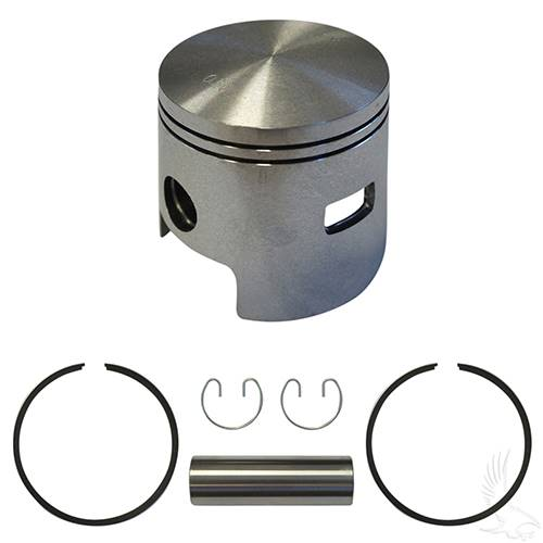 EZGO 2-cycle Piston and Ring Assembly, One Port +.50mm