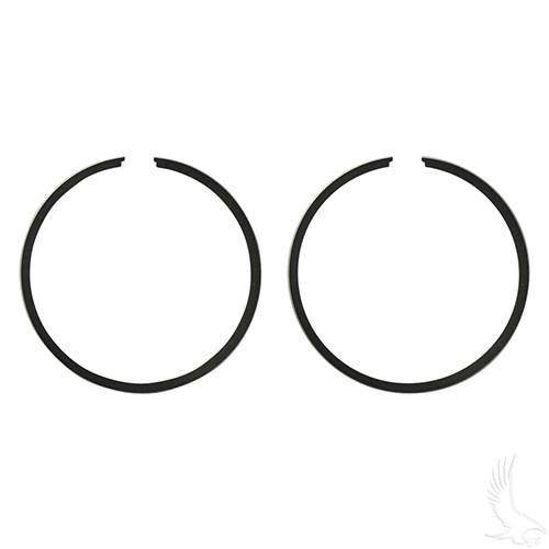 EZGO 2-cycle Piston Ring Set, PACK OF 2 +.25mm