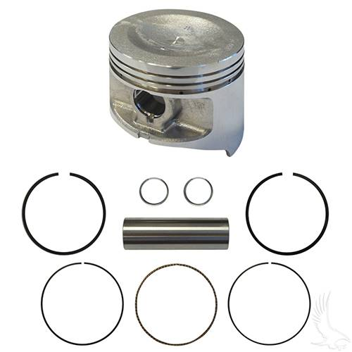 Club Car DS Piston Assembly, .+50mm FE350