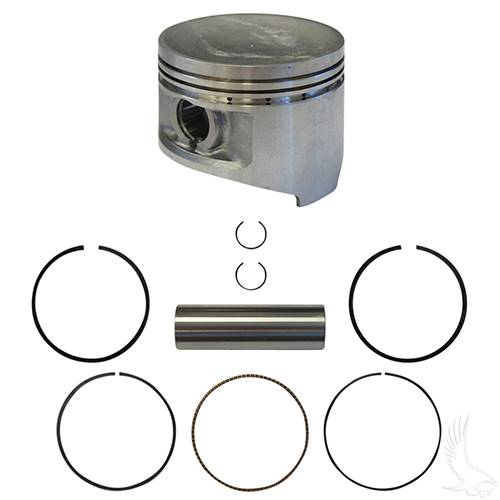 Club Car DS, Precedent Piston and Ring Assembly, +.25mm