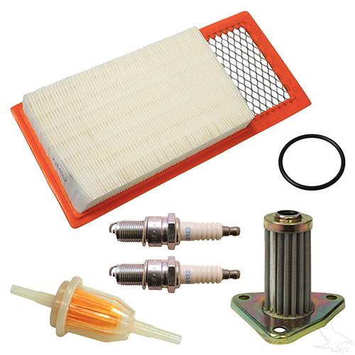 EZGO 4-cycle Gas w/ Oil Filter Tune Up Kit 1991-2005