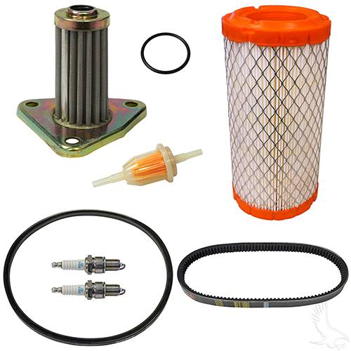 EZGO295/350cc 4-cycle Gas 96+ w/Oil Filter Deluxe Tune Up Kit