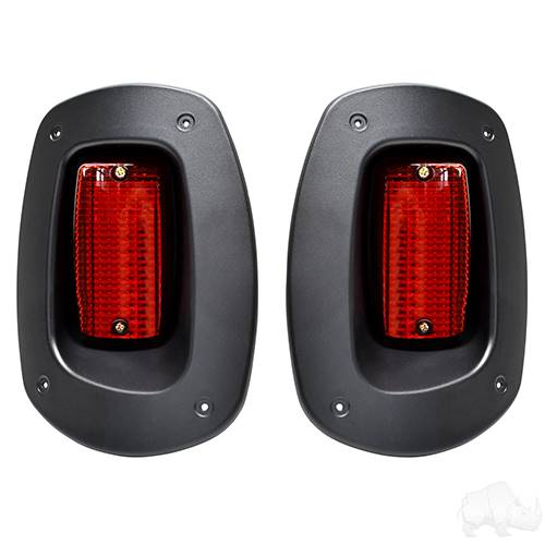 EZGO RXV LED Taillights Replacements Exact Size Years 2008-2015