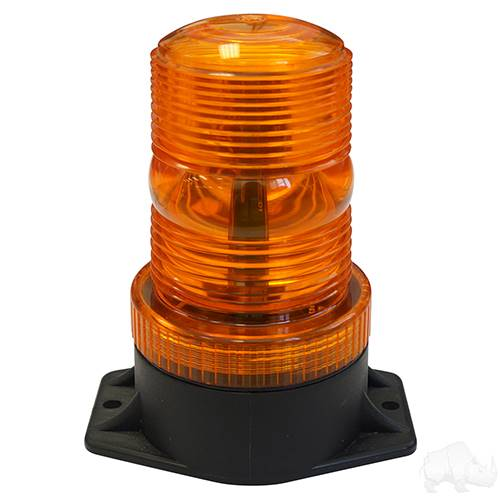 Amber 12-80V DC Strobe Light