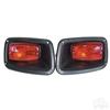 EZGO TXT LED Taillights with Bezels