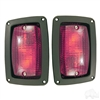 LED Taillights with Bezels