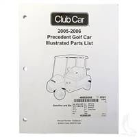 Club Car Precedent Gas 2005-2006 Parts Manual