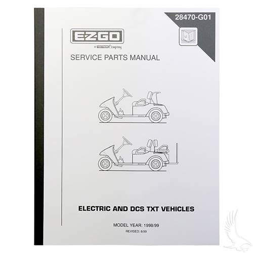 EZGO DCS Electric 1998-1999 Service Manual