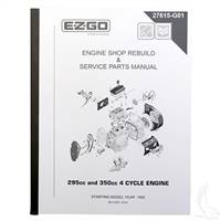 EZGO 4-cycle Engine Maintenance Manual