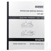 EZGO TXT 48V Electric Service Manual