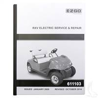 EZGO RXV Electric Service Manual