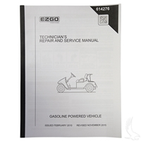 EZGO 13hp Kawasaki Engine Service Manual