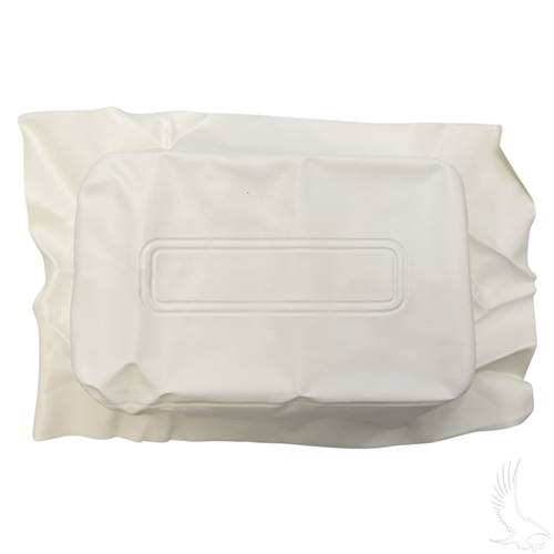 Club Car DS White Seat Back Cover 1982-2000.5