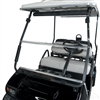 Club Car 2001+ 1/4'' Impact Modified  Clear Folding Windshield