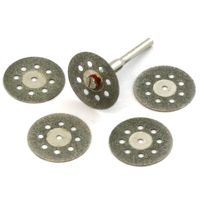 5 piece DIAMOND CUT-OFF WHEELS