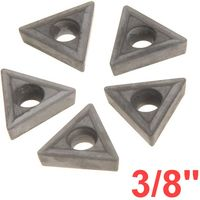 "3/8"" C6 Carbide Insert for Indexable Lathe Toolholder"