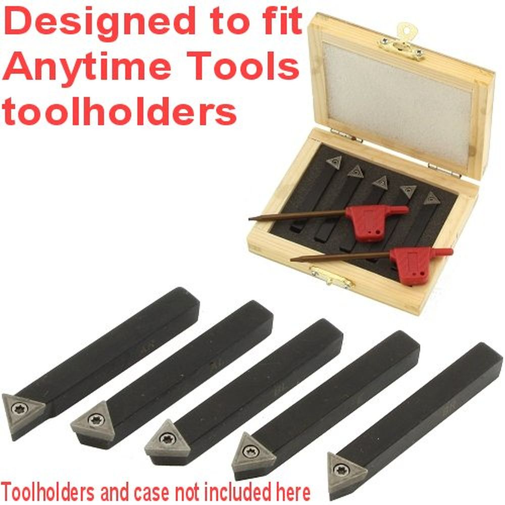"""1//4/"""" Quarter Inch Shank Indexable Lathe Tool With 6mm Carbide Insert RCMT06"""