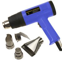 Dual Speed/Temp Pro HEAT GUN With 4 nozzles