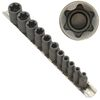 11 bits FEMALE TORX (star) SOCKET Bit Set w/Holder