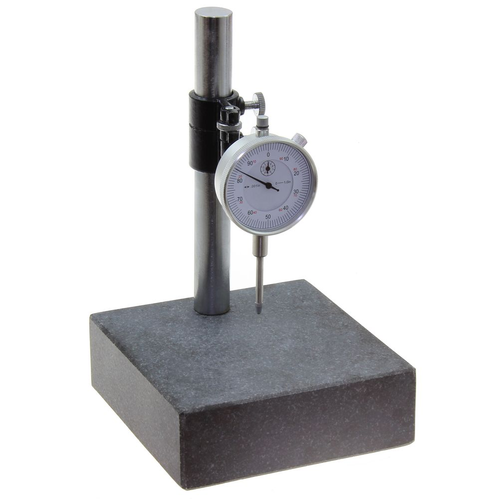 GRANITE CHECK STAND SURFACE PLATE u0026 DIAL INDICATOR GAGE  sc 1 st  Anytime Tools & GRANITE CHECK STAND SURFACE PLATE u0026 DIAL INDICATOR