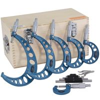 "0-6"" 6 pc Outside Micrometer Set"