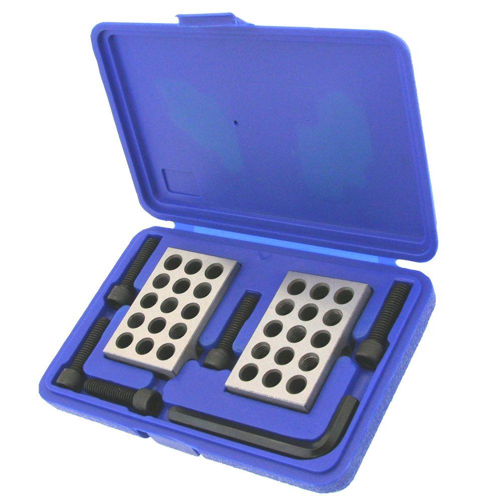 "Pair of 1/"" x 2/"" x 3/"" Precision Blocks Machinist Block Set Up Tool Gauge 1-2-3"