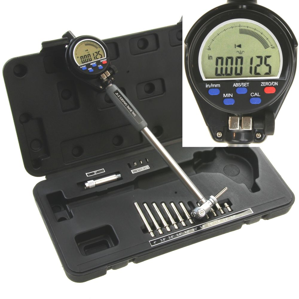 Electronic Federal Gage Products : Quot electronic digital cylinder hole bore gauge