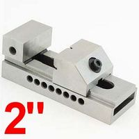 "2"" PREMIUM TOOLMAKER GRINDING GROUND STEEL VISE 0.0002"""