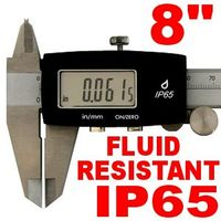 "8"" DIGITAL CALIPER IP65 FLUID RESISTANT DIGIMATIC"