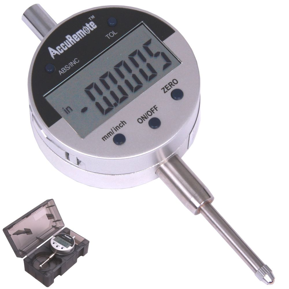 "1/""//.0005/"" .01mm 1//128 /'/'  Digital Electronic Indicator Absolute Gage New"