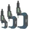 "3 pc 0-3""/0.00005"" ELECTRONIC MICROMETER DIGITAL  X-PRECISION OUTSIDE LARGE LCD"