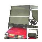 "E-Z-GO Hinged Windshield, Heavy Duty 1/4"", Tinted"