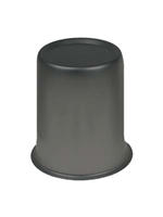 "Black Center Wheel Cap, 2.65"" set of 4"