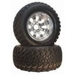 "12"" 3+4 8 Spoke Spider w/ 23x10.5-12 All Trail Tire"