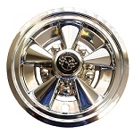 "8"" Rally Classic Chrome Wheel Cover, 5 spoke (set of 4)"