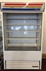 True TAC-48 Vertical Curtain Merchandiser