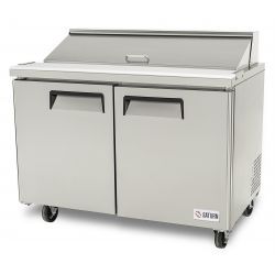 Sandwich/Salad Prep Table, 48in - Saturn