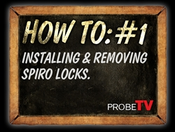 HOW TO VIDEO: Installing & Removing Spiro Locks