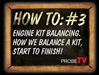 HOW TO VIDEO: Engine Kit Balancing_How an Engine Kit is balanced